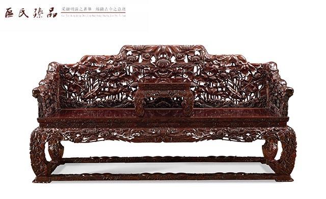 莲叶型椅子手绘图
